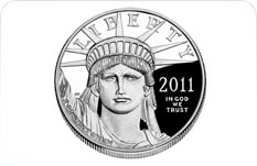 1 oz. American Eagle Platinum Proof Coins