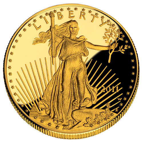 1/2 oz Proof Gold American Eagle